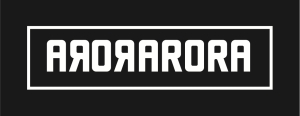 arora logo on black copy